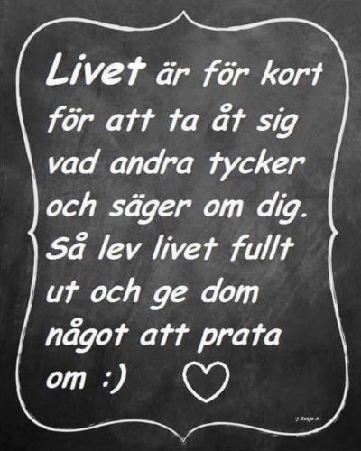 Livet citat