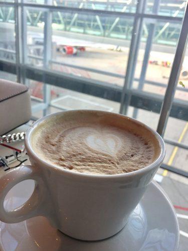 Kaffe på Arlanda