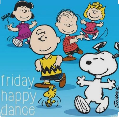 Happy friday dance