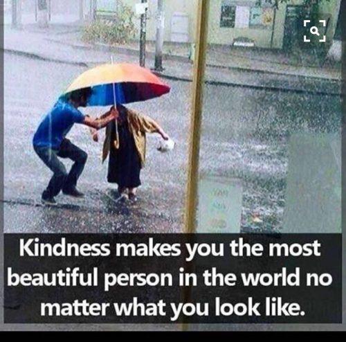 Snällhet är vackert