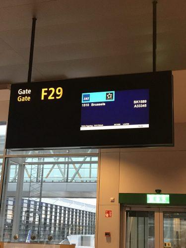 På väg till Bryssel