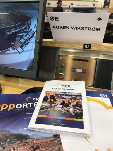EPP Bryssel plenar