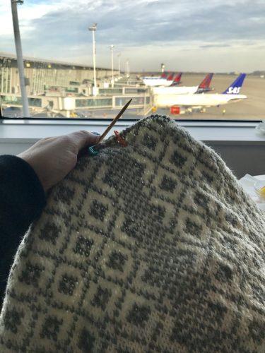 Stickning på Bryssels flygplats